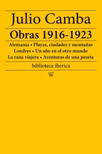 Julio Camba: Obras 1916-1923 Book Cover