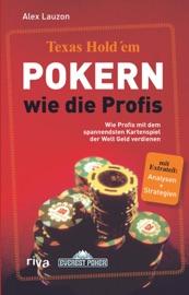 Texas Hold'em - Pokern wie die Profis