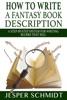 How To Write A Fantasy Book Description