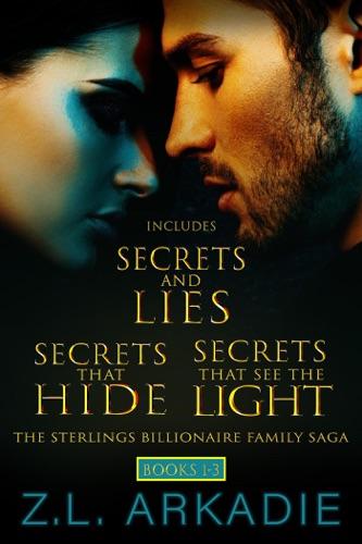 Z.L. Arkadie - The Sterlings Billionaire Family Saga (Books 1-3)