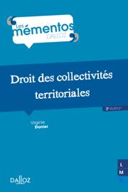 Droit des collectivités territoriales - 3e éd.