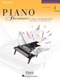 Piano Adventures - Level 4 Lesson Book