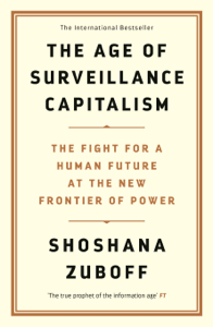 The Age of Surveillance Capitalism La couverture du livre martien