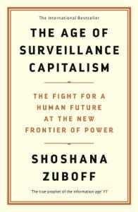 The Age of Surveillance Capitalism La couverture du livre martien