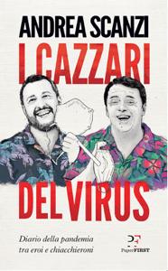 I cazzari del virus Copertina del libro