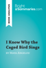 Bright Summaries - I Know Why the Caged Bird Sings by Maya Angelou (Book Analysis) artwork