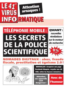 Le 41e Virus Informatique La couverture du livre martien