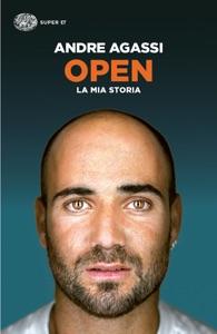 Open da Andre Agassi Copertina del libro