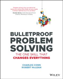Bulletproof Problem Solving Buch-Cover
