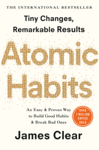Atomic Habits Boekomslag