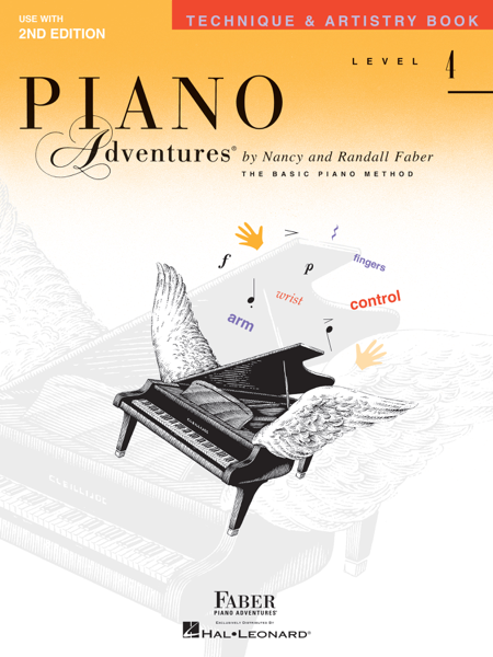 Piano Adventures : Level 4 - Technique & Artistry Book