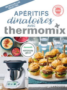 Apéritifs dînatoires avec Thermomix La couverture du livre martien