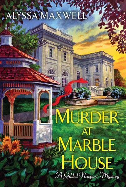 Murder at Marble House - Alyssa Maxwell book cover