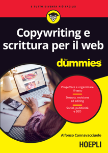 Copywriting e scrittura per il web Copertina del libro