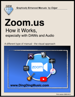 Edgar Rothermich - Zoom.us - How it Works, especially with DAWs and Audio Collaboration artwork