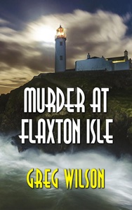 Murder At Flaxton Isle Book Cover