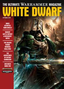 White Dwarf September 2019 La couverture du livre martien
