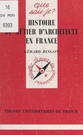Histoire du métier d'architecte en France