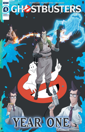 Ghostbusters: Year One #4