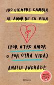 Uno siempre cambia al amor de su vida Book Cover