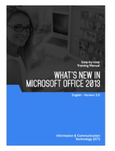 What's New In Microsoft Office 2013