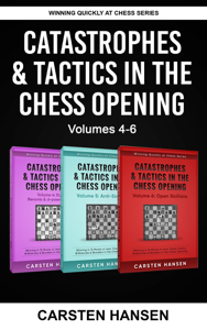 Catastrophes & Tactics in the Chess Opening - Boxset 2 Libro Cover