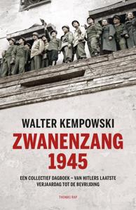 Zwanenzang 1945 Boekomslag