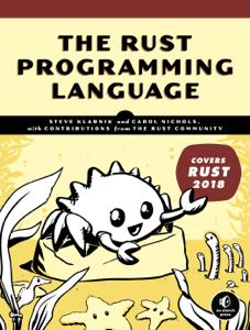 The Rust Programming Language (Covers Rust 2018) La couverture du livre martien