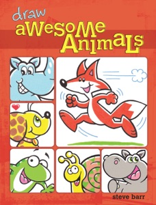 Draw Awesome Animals Book Cover