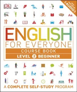 English for Everyone: Level 2: Beginner, Course Book Book Cover