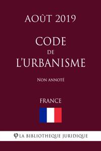 Code de l'urbanisme (France) (Août 2019) Non annoté La couverture du livre martien