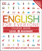 English for Everyone: Level 1: Beginner, Course Book Book Cover