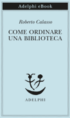 Come ordinare una biblioteca