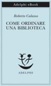 Come ordinare una biblioteca Book Cover