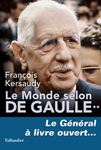 Le Monde selon De Gaulle Tome 2 La couverture du livre martien