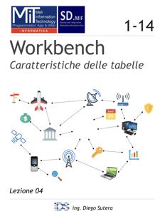 Workbench - Caratteristiche delle tabelle Copertina del libro
