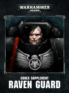 Codex Supplement: Raven Guard (Enhanced Edition) La couverture du livre martien