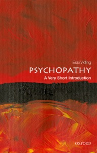 Psychopathy: A Very Short Introduction Book Cover