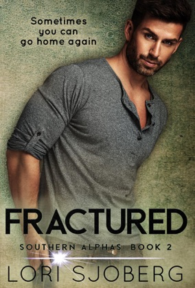Fractured book cover