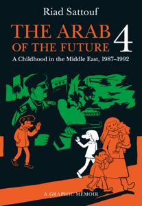 The Arab of the Future 4 Copertina del libro
