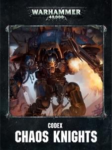 Codex: Chaos Knights (Enhanced Edition) Book Cover