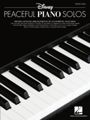 Disney Peaceful Piano Solos Songbook Book Cover