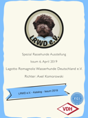 Katalog Spezial-Rassehunde-Ausstellung Issum 2019