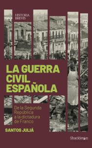 La guerra civil española Copertina del libro