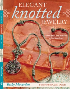 Elegant Knotted Jewelry Book Cover