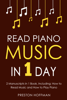 Preston Hoffman - Read Piano Music: In 1 Day - Bundle - The Only 2 Books You Need to Learn Piano Sight Reading, Piano Sheet Music and How to Read Music for Pianists Today  artwork