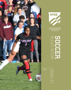 2020-21 NFHS Soccer Rules Book Book Cover