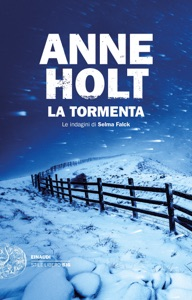 La tormenta da Anne Holt Copertina del libro