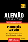 Vocabulário Português Brasileiro-Alemão: 9000 Palavras Book Cover