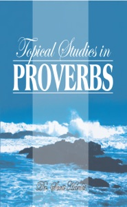 Topical Studies in Proverbs Book Cover